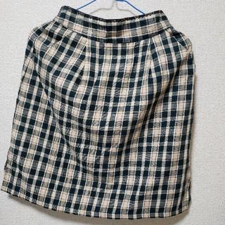 マジェスティックレゴン(MAJESTIC LEGON)のMAJESTIC LEGON チェックスカート(ひざ丈スカート)