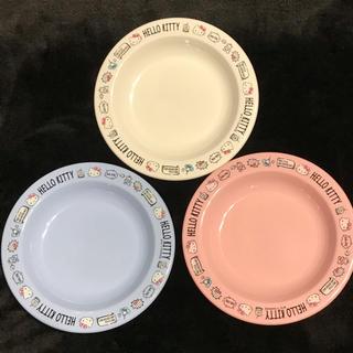 ハローキティ(ハローキティ)のハローキティ小皿3枚セット(食器)