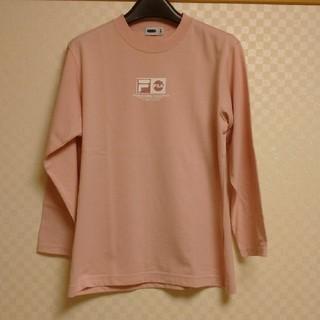 フィラ(FILA)のFILA ピンク・ロングTシャツ(Tシャツ(長袖/七分))