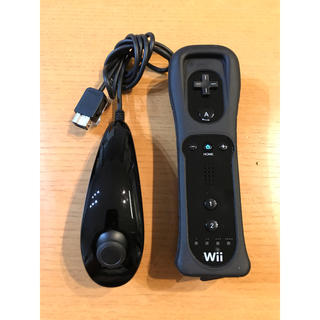 ウィー(Wii)の【美品】Wii Remote Nunchuk(その他)