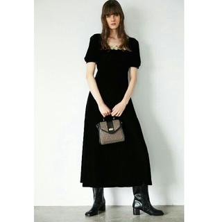 moussy - NEWVELVET ロングドレス