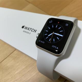Apple Watch - アップルウォッチ 3 42mm シルバーアルミニウム GPSモデル