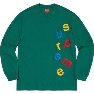 Supreme - 【Mサイズ】 Scatter Logo L/S Top supreme スカッタ