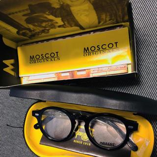 MOSCOT MILTZEN モスコット ミルゼン 46 M ブラック 黒 眼鏡