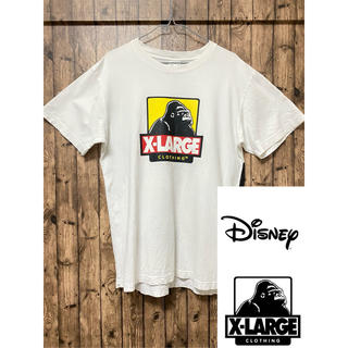 XLARGE - XLARGE DISNEYミッションコラボ Tシャツ