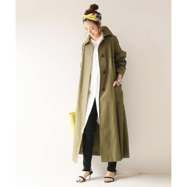Spick and Span(スピックアンドスパン)の新品タグ付き♡Spick & Span ♡P/C ツイルロングコート レディースのジャケット/アウター(ロングコート)の商品写真