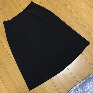 アニエスベー(agnes b.)のアニエスベー スカート 黒(ひざ丈スカート)