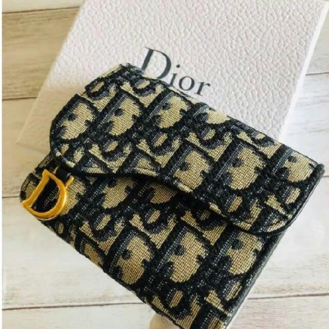 Christian Dior(クリスチャンディオール)の新品箱入り ディオール Dior サドル Saddle 折りたたみ財布 メンズのファッション小物(折り財布)の商品写真
