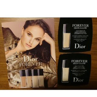 ディオール(Dior)のDior ディオール フォーエヴァー ファンデーション サンプル(サンプル/トライアルキット)