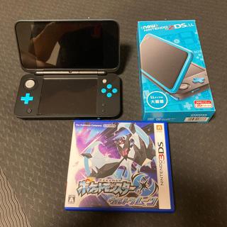 任天堂 - Nintendo  ニンテンドー 2DS LL ポケモン ウルトラムーン 付き