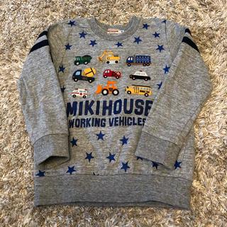 mikihouse - 110㎝ ミキハウス車柄トレーナー
