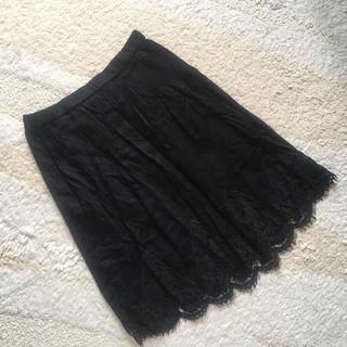 ココディール(COCO DEAL)のココディール♡裾レーススカート(ひざ丈スカート)