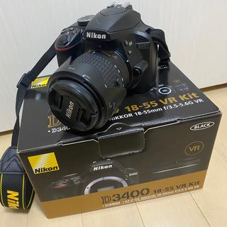 Nikon - NIKON D3400 カメラ 一眼レフカメラ