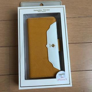 サマンサタバサプチチョイス(Samantha Thavasa Petit Choice)の新品 サマンサタバサプチチョイス iPhoneXケース♡(iPhoneケース)