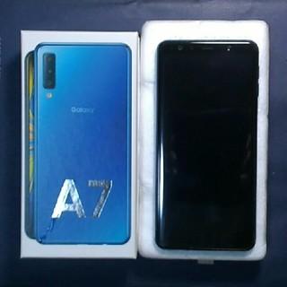 SAMSUNG - Galaxy A7 simフリー 楽天モバイル版 おまけ付き