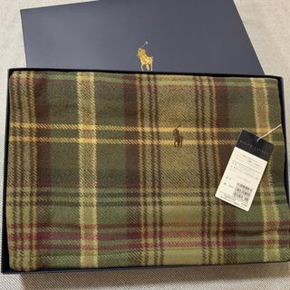 ラルフローレン(Ralph Lauren)の新品 ラルフローレン  大判ハーフブランケット  ひざ掛け(毛布)