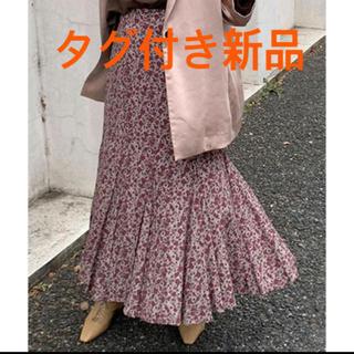 FRAY I.D - 【新品タグ付】FRAY I.D IPEKERプリントフレアスカート