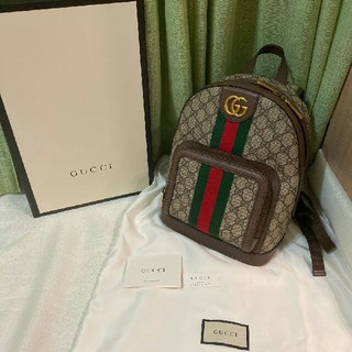 Gucci - 超美品 グッチ オフィディア GGスモールバックパック リュック