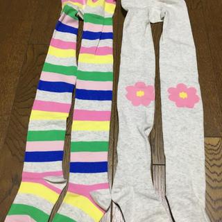 H&M - ☆H&M エイチアンドエム☆女の子 タイツ 2枚セット キュート 可愛い 120