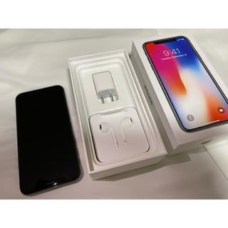 iPhone - お値下げ⭐︎【iPhone X】256GB  SpaceGray SIMフリー