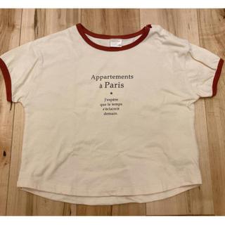 フタフタ(futafuta)の試着のみ!tete a tete ꕤ Tシャツ 80 90(Tシャツ/カットソー)