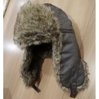 カルバンクライン(Calvin Klein)のカルバンクライン Calvin Klein 冬 帽子 耳あて付き 飛行帽 グレー(キャップ)