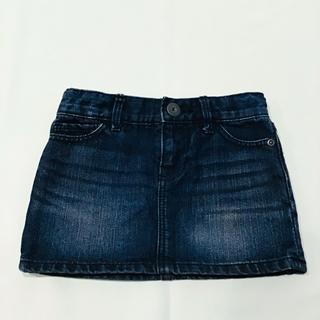 ベビーギャップ(babyGAP)のbaby gap デニムスカート 80cm ベビー(スカート)