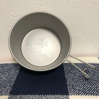 ザノースフェイス(THE NORTH FACE)の新品未使用 GOLDWIN シェラカップ ノースフェイス ノベルティ 販促(食器)