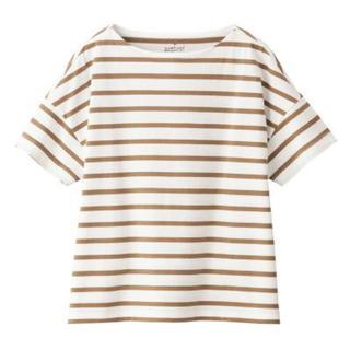ムジルシリョウヒン(MUJI (無印良品))の無印良品 ボートネックワイドTシャツ(Tシャツ(半袖/袖なし))