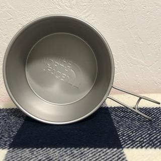 ザノースフェイス(THE NORTH FACE)の新品未使用 THE NORTH FACE シェラカップ 限定(食器)