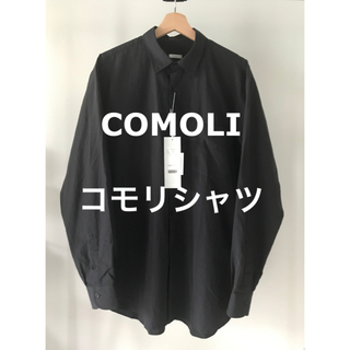 COMOLI - 2020AW COMOLI コモリシャツ [NAVY]