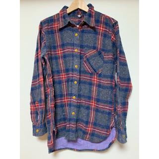 アングリッド(Ungrid)のungrid ネルシャツ チェックシャツ 完売 美品(シャツ/ブラウス(長袖/七分))