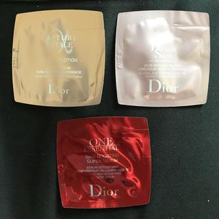 ディオール(Dior)のディオール スキンケア サンプル 3種類セット 試供品(サンプル/トライアルキット)