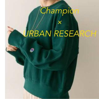 URBAN RESEARCH - Champion × URBAN RESEARCH クルーネックスウェット