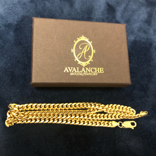 AVALANCHE - 【限定価格】AVALANCHE 10K YG マイアミキューバンネックレス