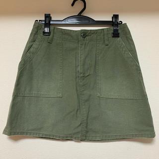 スライ(SLY)のSLY タイトスカート サイズ2 ミリタリー 美品(ミニスカート)