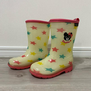 ミキハウス(mikihouse)の長靴 レインブーツ 女の子(長靴/レインシューズ)