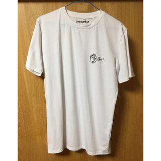 アンダーアーマー(UNDER ARMOUR)のプロイズム proism ぷろたん Tシャツ Mサイズ 白(Tシャツ/カットソー(半袖/袖なし))