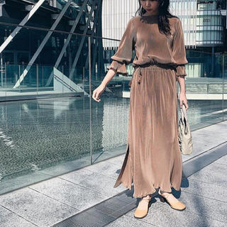 RIM.ARK 🌿 Classy flare sleeve dress