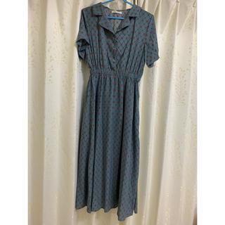 w closet - w closet ブルー半袖ワンピース