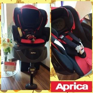 Aprica - ⒃☆美品☆アップリカ フラディア ディアターン☆回転式チャイルドシート☆ベッド型