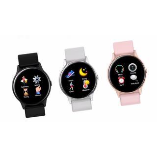 スマートウォッチ   心拍計 活動量計 SmartWatch Android(腕時計(デジタル))