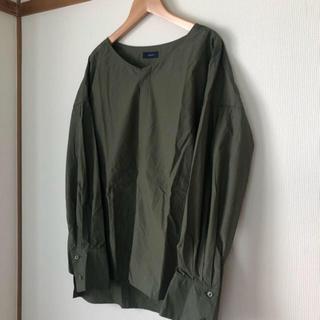 SHIPS - 美品☆SHIPS ノーカラーシャツ