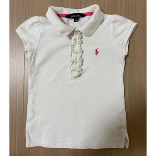 ポロラルフローレン(POLO RALPH LAUREN)のラルフローレン ポロシャツ 女児110cm(Tシャツ/カットソー)
