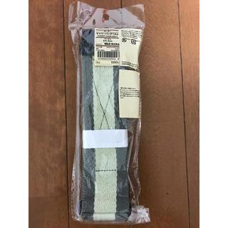 ムジルシリョウヒン(MUJI (無印良品))の新品未使用 無印良品 MUJI キャリーケースベルト ベージュ (ボーダー)(スーツケース/キャリーバッグ)