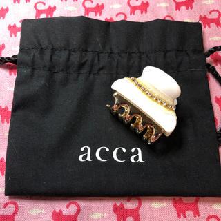 acca - アッカ(acca)⭐️ヘアクリップ