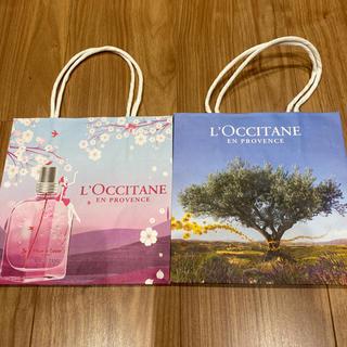 ロクシタン(L'OCCITANE)のロクシタン  ショッパー 2枚セット(ショップ袋)