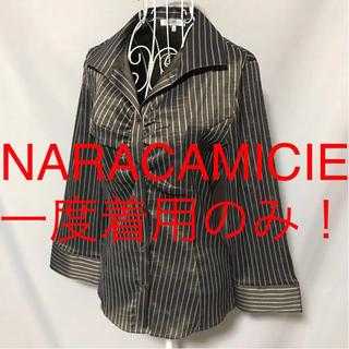 ナラカミーチェ(NARACAMICIE)の★NARACAMICIE/ナラカミーチェ★七分袖ブラウスⅠ(M.9号)(シャツ/ブラウス(長袖/七分))