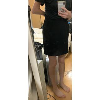 タイトスカート ミニスカート 黒