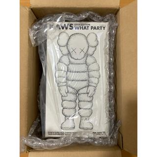 メディコムトイ(MEDICOM TOY)のKAWS what party figure white ホワイト(その他)